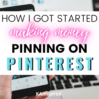 How I got started making money from Pinning on Pinterest