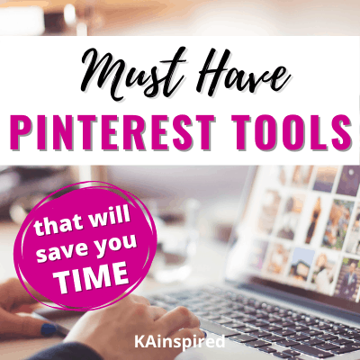 BEST TIME SAVING TOOLS FOR PINTEREST