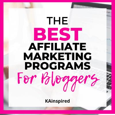The Best Affiliate Marketing Programs