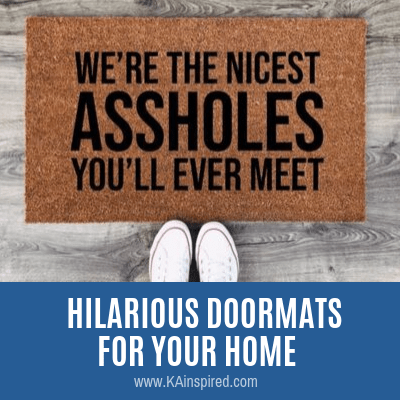 HILARIOUS DOORMATS FOR YOUR HOME