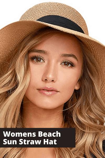 Women's Beach Sun Straw Hat | Summer Fashion