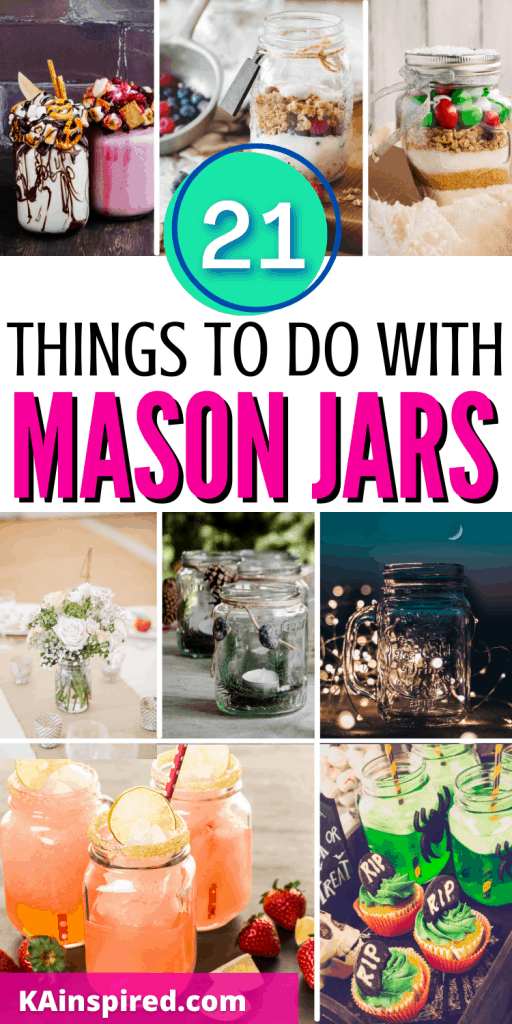21 things to do with Mason Jars