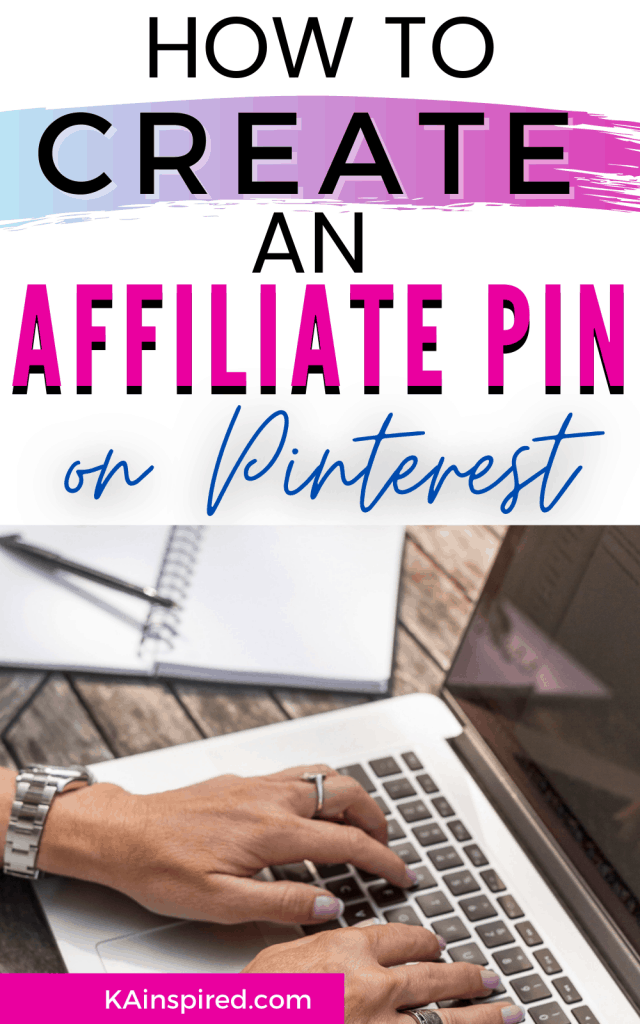 How To Create an Affiliate Pin