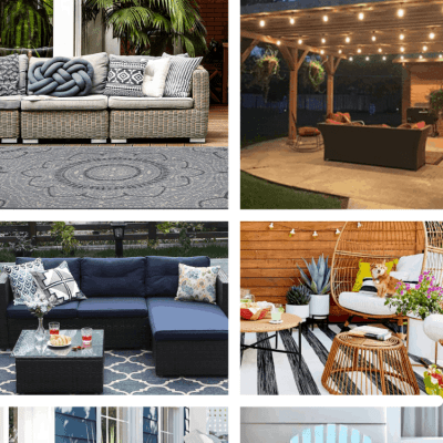BUDGET FRIENDLY WAYS TO UPDATE YOUR OUTDOOR SPACE