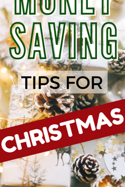 EASY WAYS TO SAVE FOR CHRISTMAS