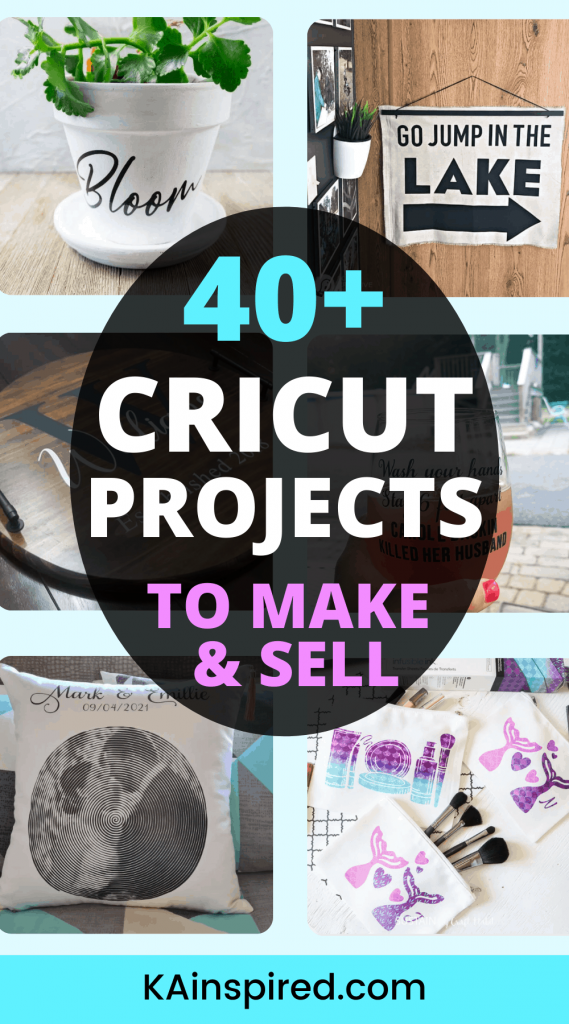 40+ CRICUT PROJECTS TO SELL