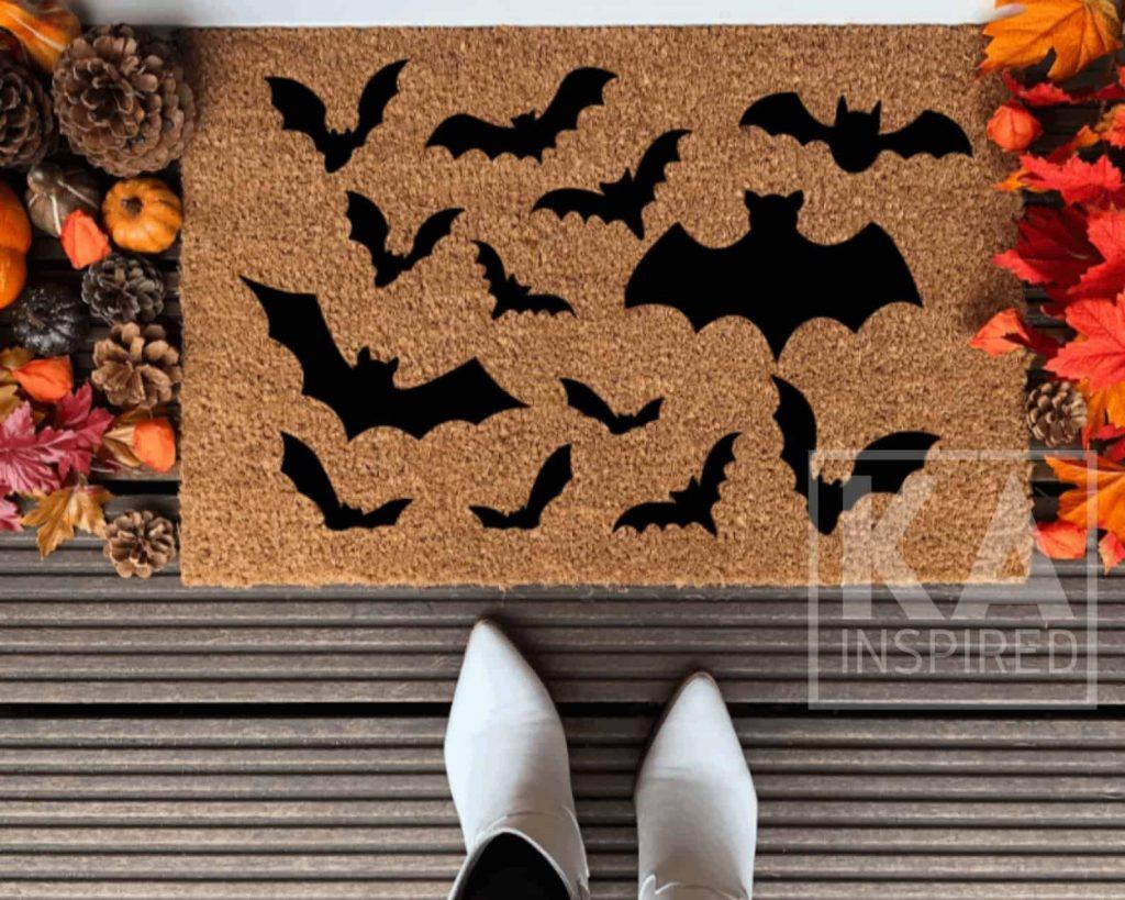 Bats Doormat