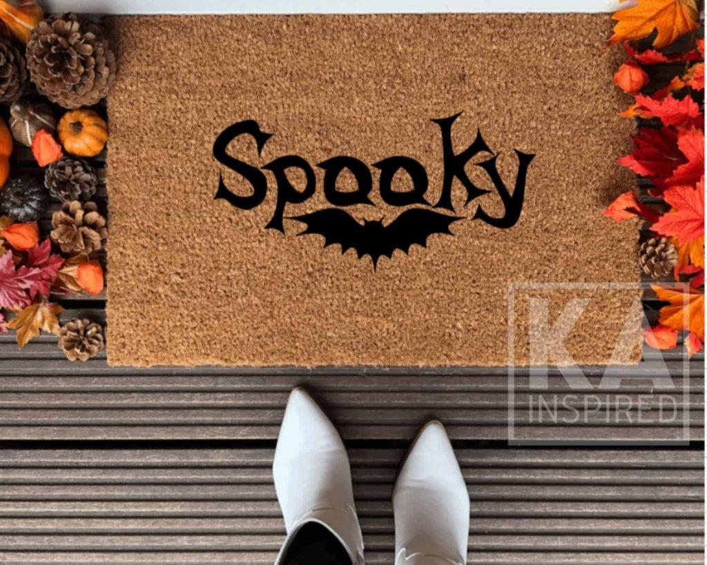Spooky Halloween Doormat