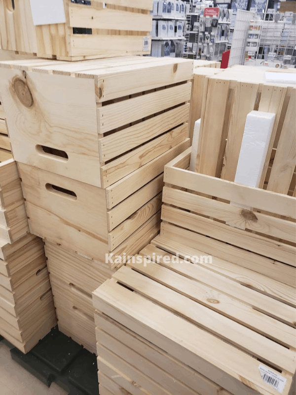 MICHEAL'S UNFINISHED CRATES