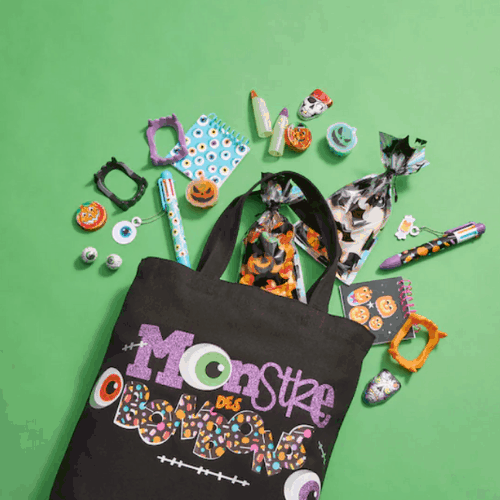 CANDY MONSTER TOTE